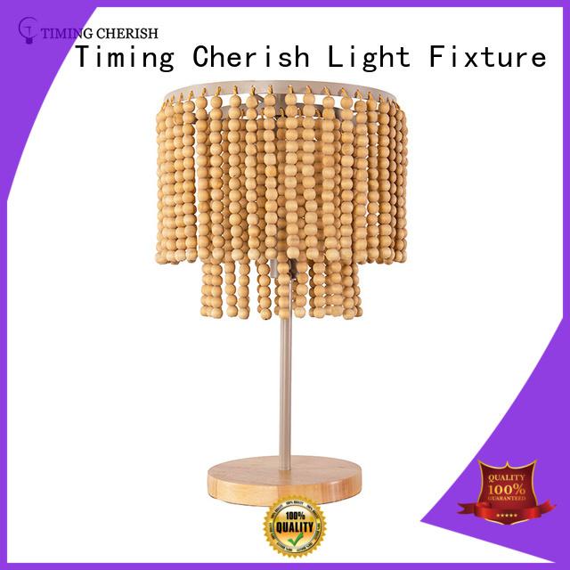 table lamps for living room beads black Timing Cherish Brand column glass table lamp
