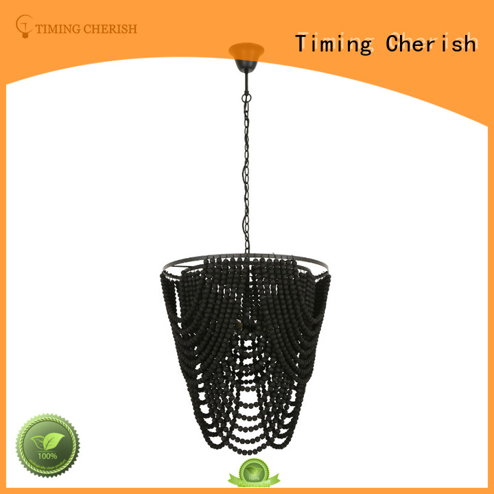 round beaded pendant light washnatural for shop Timing Cherish