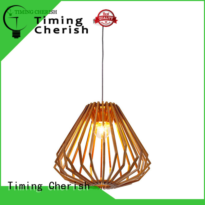 fringed wood pendant light frisbee manufacturers for bar