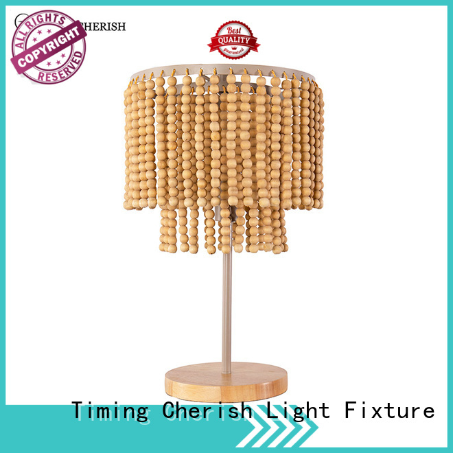 natural end table lamps rhine suppliers for hotel