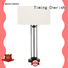Timing Cherish metal bedside table lights factory for hotel