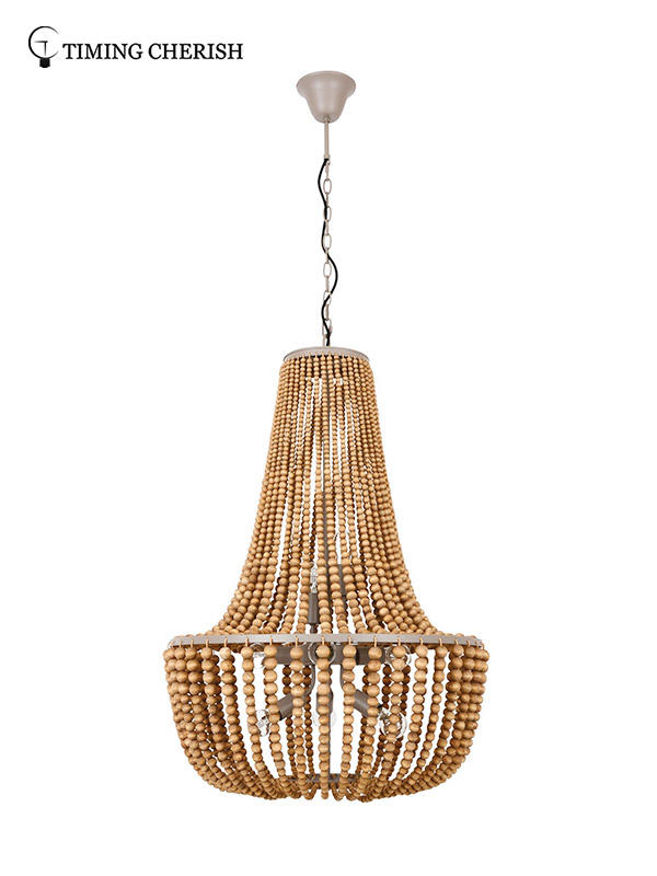 Timing Cherish oval chandelier light factory for hotel-2