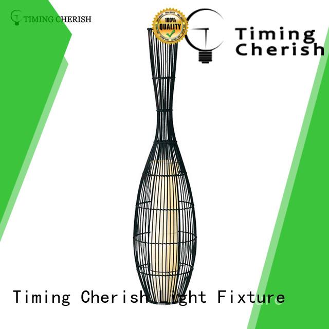 Timing Cherish stylish corner floor lamp supply for living room