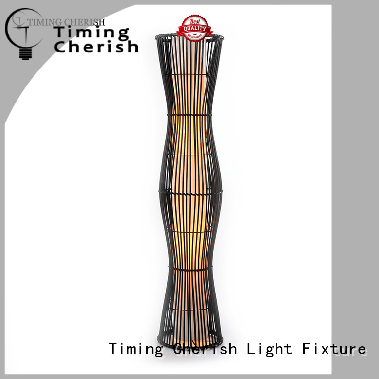 Timing Cherish antique wooden floor lamp manufacturers for hotel