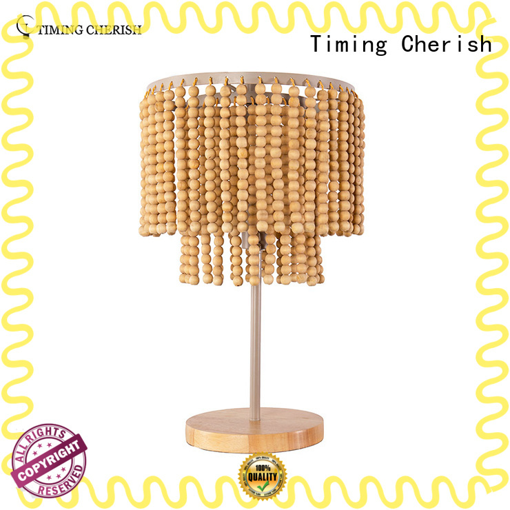 Timing Cherish everest side table lamps factory for hotel