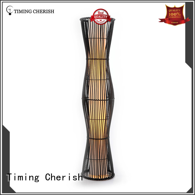 Timing Cherish linen contemporary floor lamps manufacturer for home
