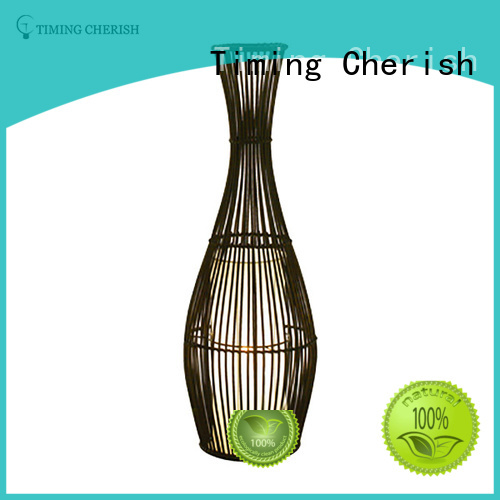 everest glass cylinder floor lamp factory for hotel Timing Cherish