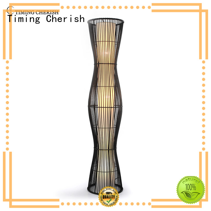 cylinder tall floor lamps wicker company for home