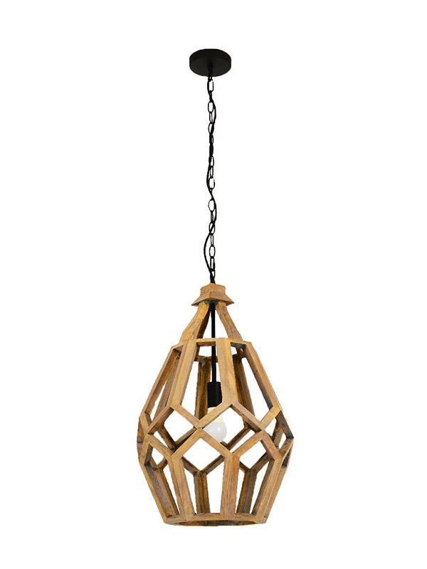 small wood pendant light cord for business for shop-2