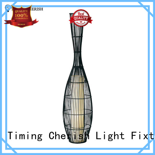 Timing Cherish shade floor standing lamps for business for living room