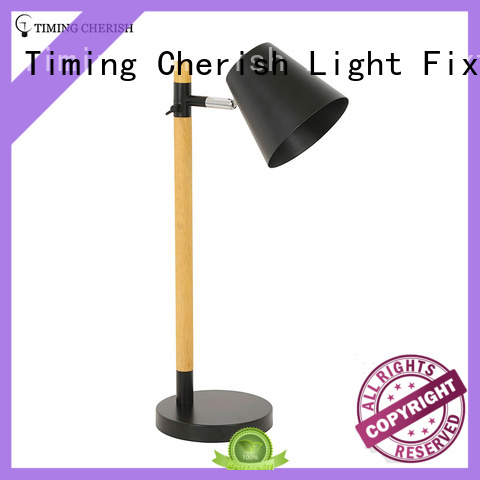 Timing Cherish Brand french white table lamps for living room modern supplier