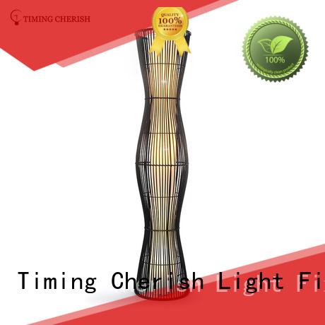 Timing Cherish natural fabric floor lamp suppliers for bar