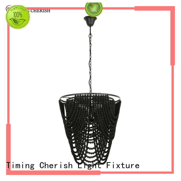 Timing Cherish black chandelier lamp factory for home