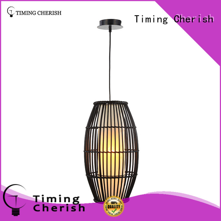 weaving cotton pendulum lights fixture supply for living room