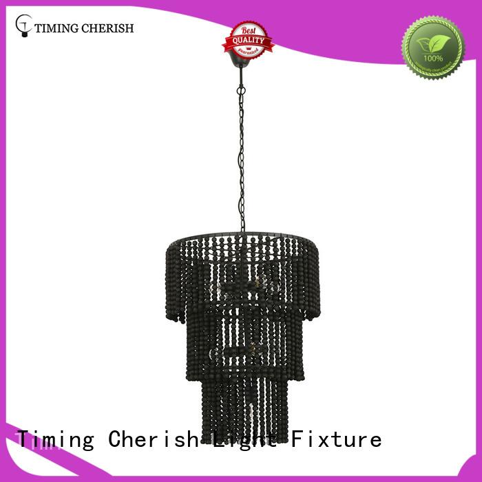 handmadebeaded pendant light2 tier supplier for living room