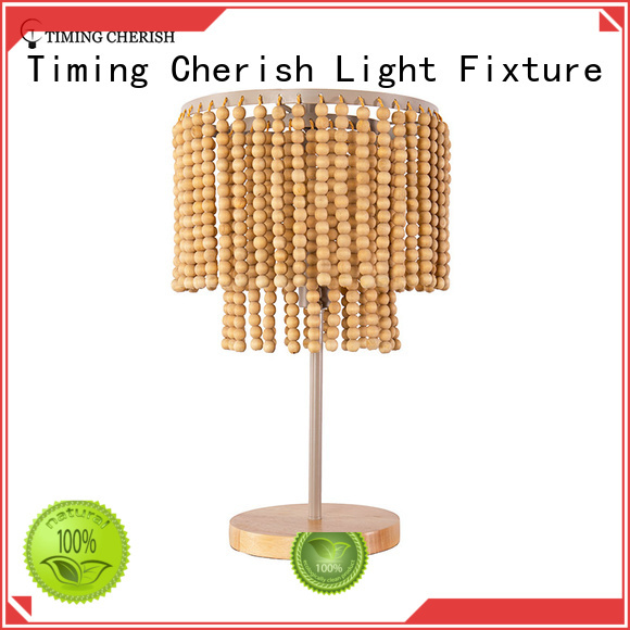 Timing Cherish metal side table lamps supply for living room