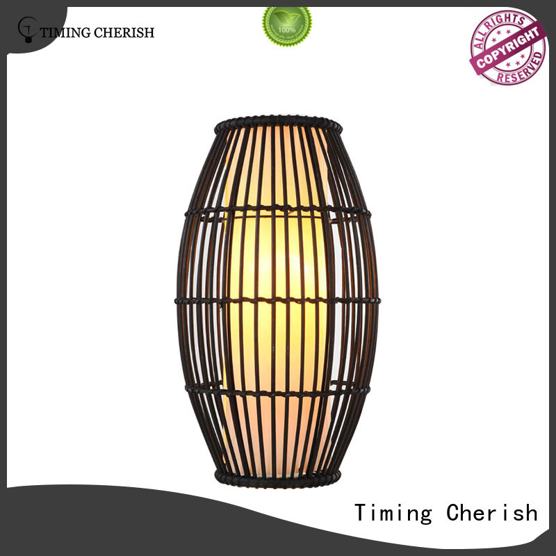 Timing Cherish cylinder touch table lamp factory for kitchen