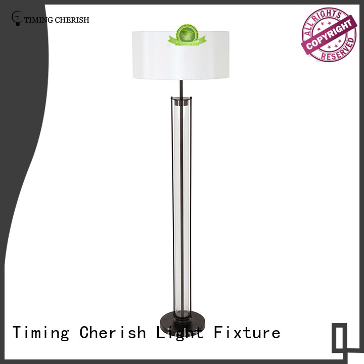 Timing Cherish cylinder standing lamp for sale for hotel
