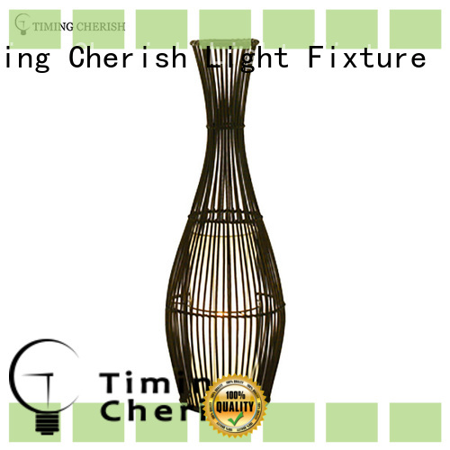 Timing Cherish natural floor standing lamps customized for hotel