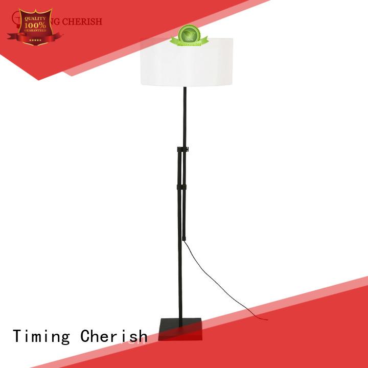 Timing Cherish adjustable adjustable floor lamp wicker for bar