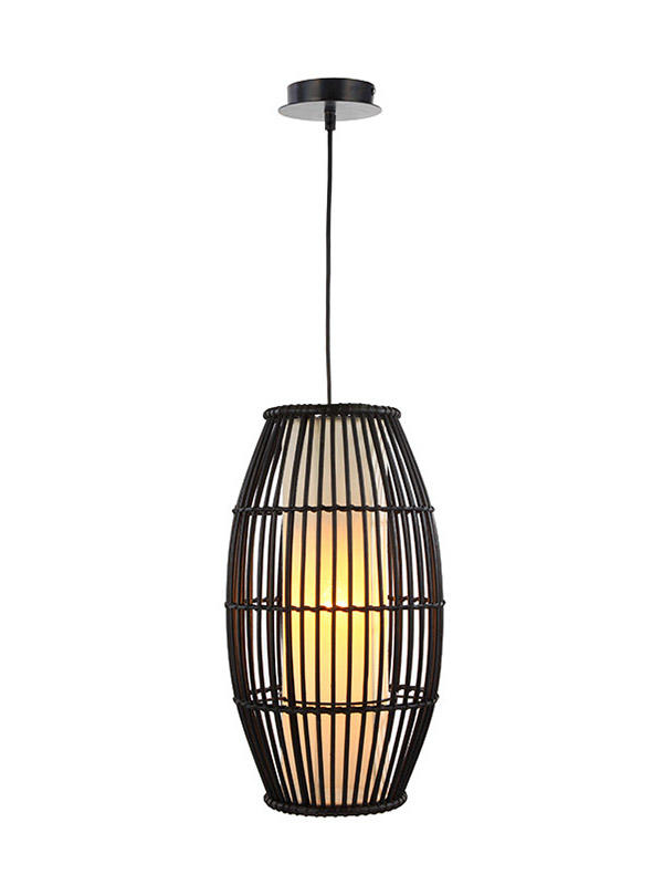 weaving cotton pendulum lights fixture supply for living room-2