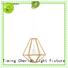 Timing Cherish bead wood pendant light supply for home