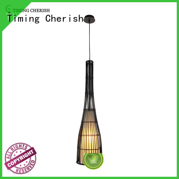 ceiling timber pendant light cord for business for shop