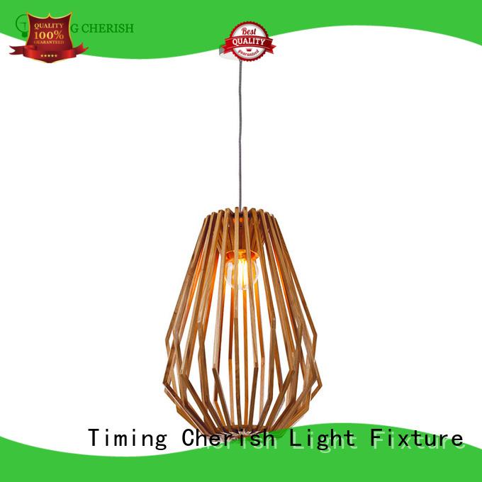Timing Cherish fixture timber pendant light manufacturers for shop