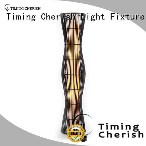 Timing Cherish nickel floor standing lights supply for living room