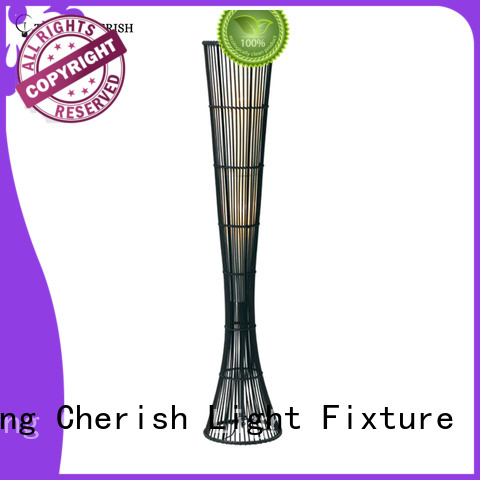 Timing Cherish rhine wicker floor lamp manufacturers for home