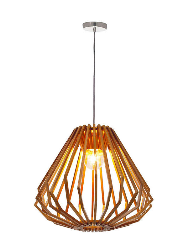 Timing Cherish ceiling wood pendant light supply for home-2