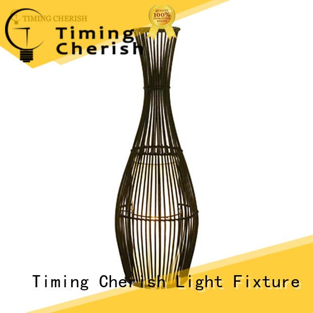 Timing Cherish natural adjustable floor lamp for business for bar