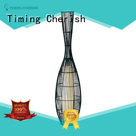 Timing Cherish rattan standing lamp suppliers for living room