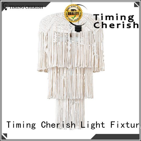 Timing Cherish hanging fringe chandelier company for shop