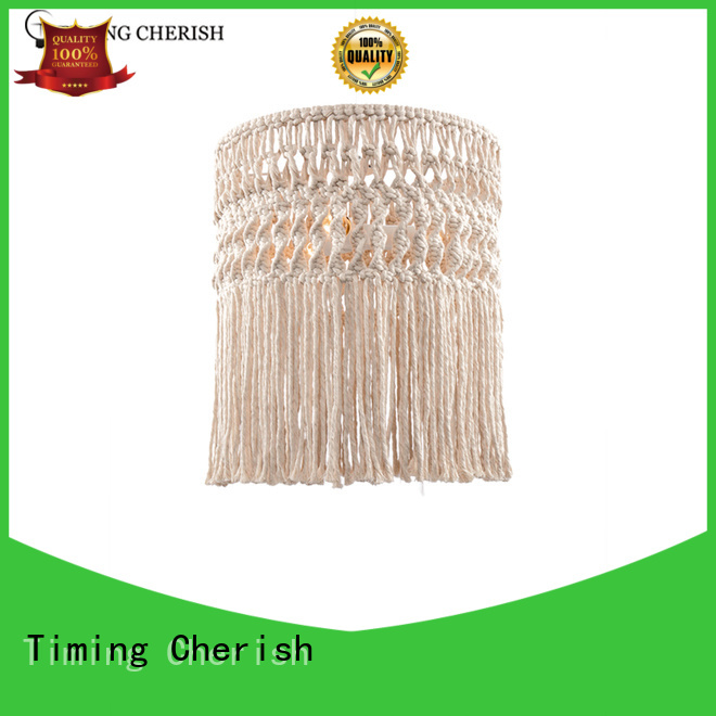 Timing Cherish frisbee timber pendant light manufacturers for living room