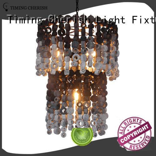 Timing Cherish handmade fringe chandelier for sale for hotel
