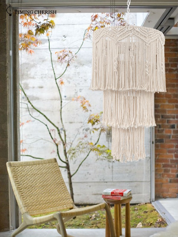 Timing Cherish white fringe chandelier suppliers for hotel-1