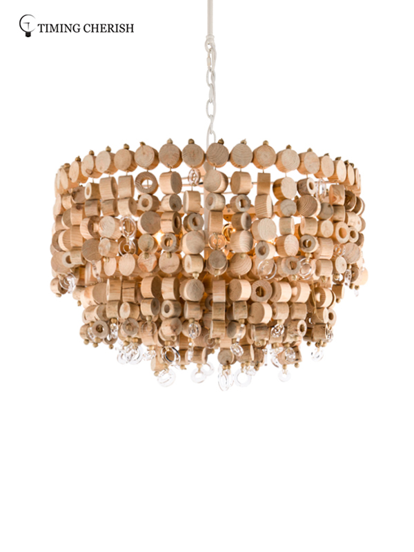 Timing Cherish fringed chandelier lamp for sale for living room-2