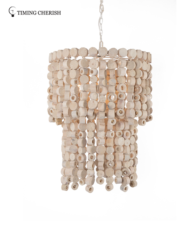 Timing Cherish d650mm beaded pendant light for business for bar-2