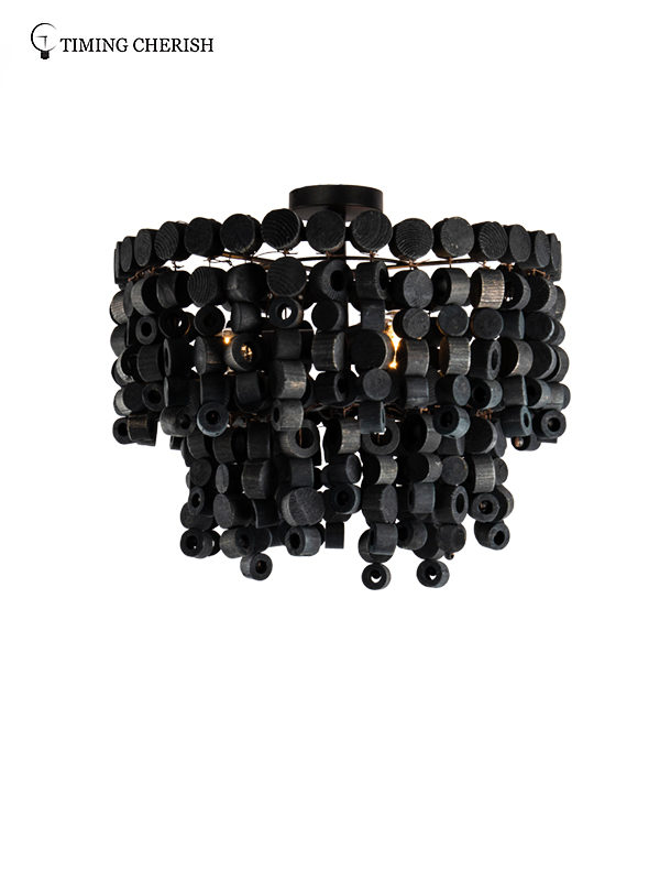 Timing Cherish black pendant ceiling lights factory for bedroom-2