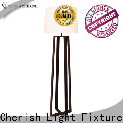 Timing Cherish classic wooden floor lamp for sale for hotel