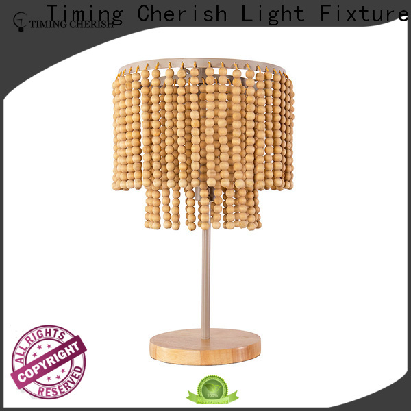 Timing Cherish classic table light factory for hotel
