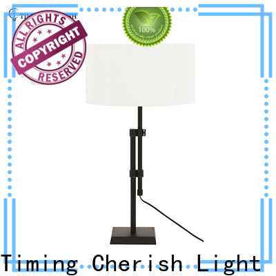 antique wood table lamp nickel for business for hotel