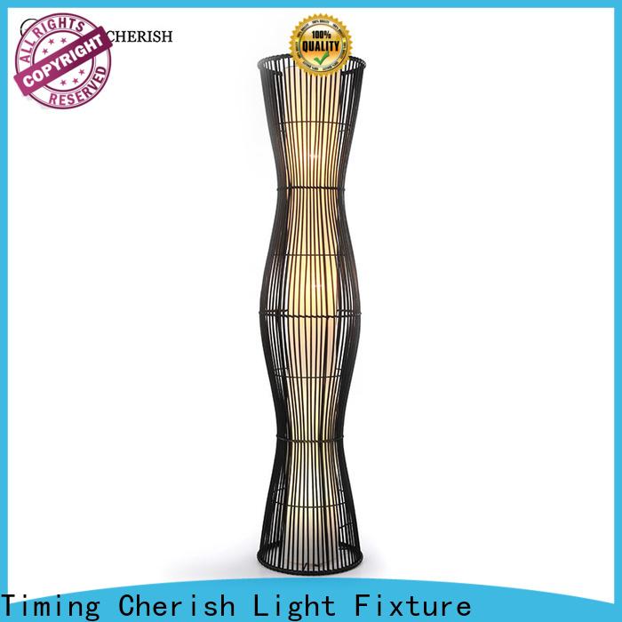 Timing Cherish modern floor standing lights manufacturers for living room