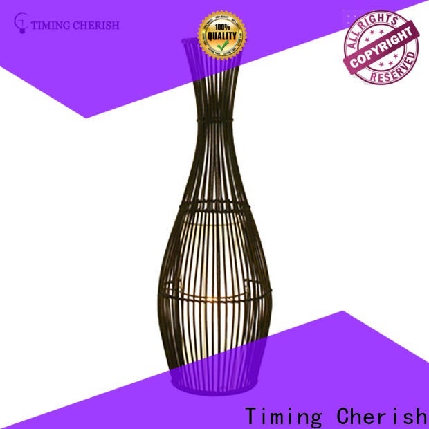 classic rattan floor lamp rhine factory for bar