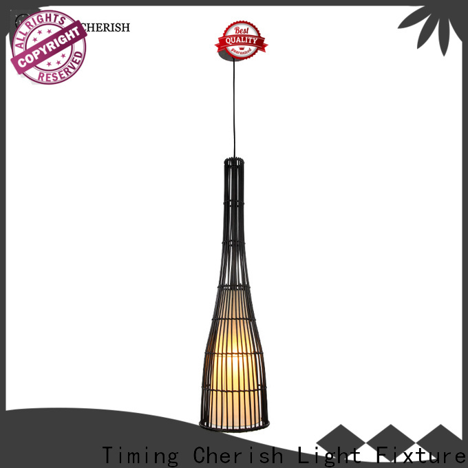 Timing Cherish timber hanging pendant lights suppliers for shop