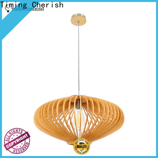 Timing Cherish natural pendant light fixtures for business for hotel