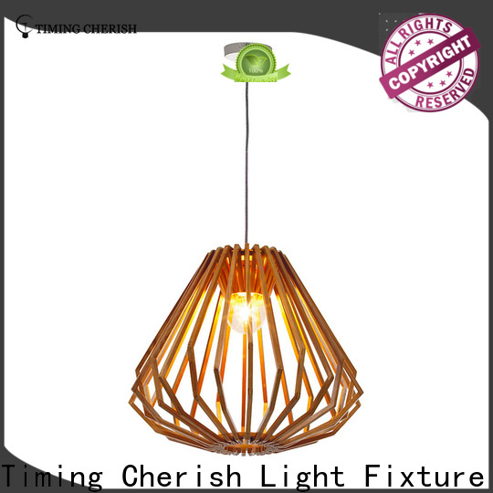 Timing Cherish baikal timber pendant light manufacturers for home