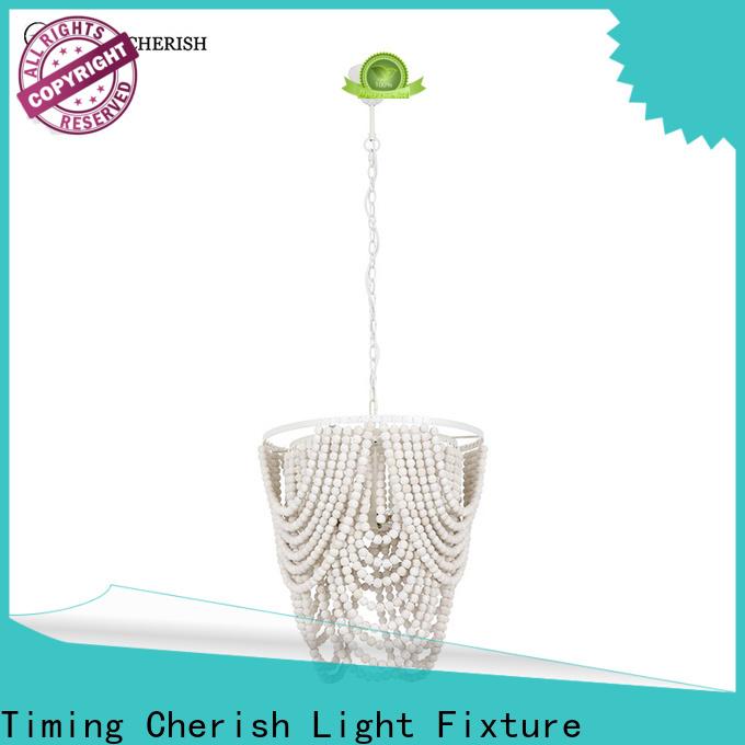 Timing Cherish black fringe chandelier supply for living room