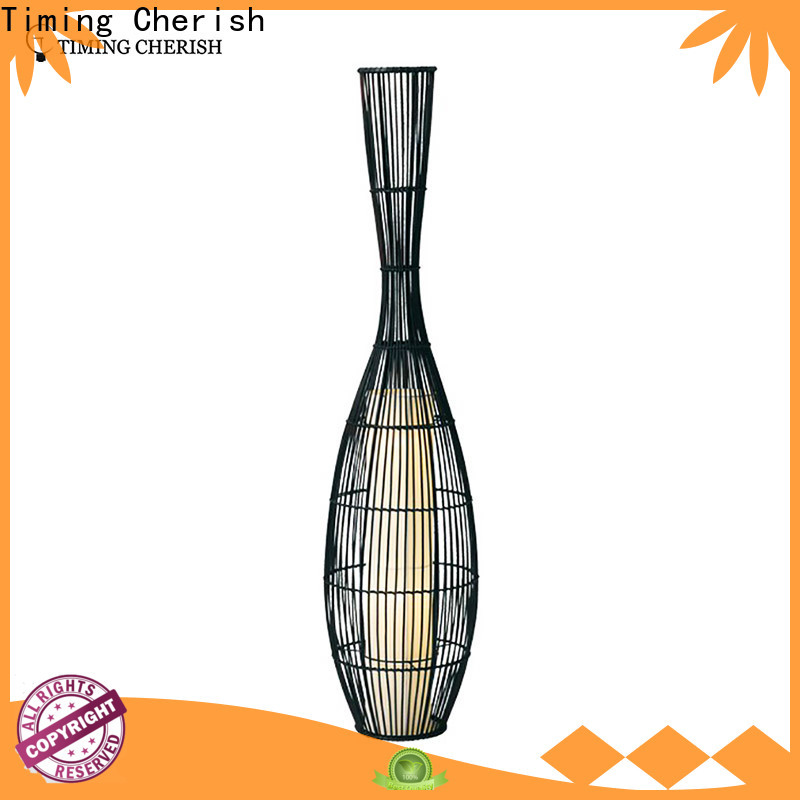 adjustable wooden floor lamp timber for business for living room